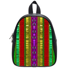 A Gift From The Rainbow In The Sky School Bags (small)  by pepitasart