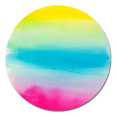 Watercolour Gradient Magnet 5  (round)