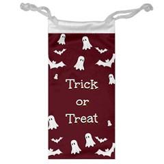 Halloween Free Card Trick Or Treat Jewelry Bag by Nexatart