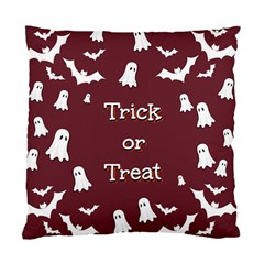 Halloween Free Card Trick Or Treat Standard Cushion Case (one Side)