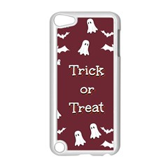 Halloween Free Card Trick Or Treat Apple Ipod Touch 5 Case (white)
