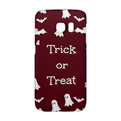 Halloween Free Card Trick Or Treat Galaxy S6 Edge by Nexatart