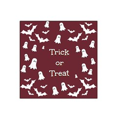 Halloween Free Card Trick Or Treat Satin Bandana Scarf