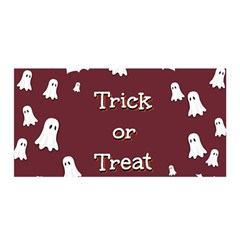 Halloween Free Card Trick Or Treat Satin Wrap by Nexatart