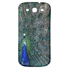 Peacock Four Spot Feather Bird Samsung Galaxy S3 S Iii Classic Hardshell Back Case by Nexatart