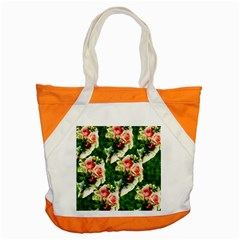 Floral Collage Accent Tote Bag