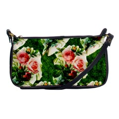 Floral Collage Shoulder Clutch Bags