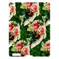 Floral Collage Apple Ipad 3/4 Hardshell Case by Nexatart