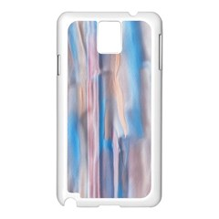 Vertical Abstract Contemporary Samsung Galaxy Note 3 N9005 Case (white)