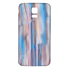 Vertical Abstract Contemporary Samsung Galaxy S5 Back Case (white) by Nexatart