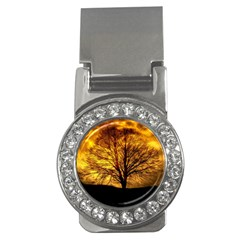 Moon Tree Kahl Silhouette Money Clips (cz)
