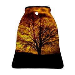 Moon Tree Kahl Silhouette Ornament (bell)