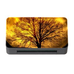 Moon Tree Kahl Silhouette Memory Card Reader with CF by Nexatart