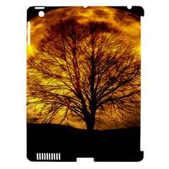 Moon Tree Kahl Silhouette Apple Ipad 3/4 Hardshell Case (compatible With Smart Cover) by Nexatart
