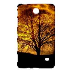 Moon Tree Kahl Silhouette Samsung Galaxy Tab 4 (8 ) Hardshell Case  by Nexatart