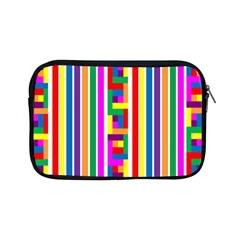 Rainbow Geometric Design Spectrum Apple Ipad Mini Zipper Cases