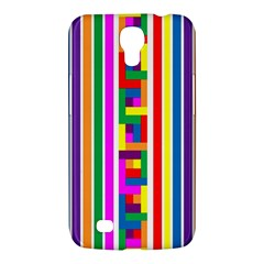 Rainbow Geometric Design Spectrum Samsung Galaxy Mega 6 3  I9200 Hardshell Case