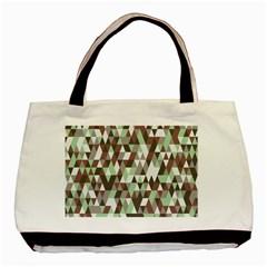 Pattern Triangles Random Seamless Basic Tote Bag