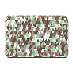 Pattern Triangles Random Seamless Small Doormat