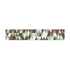 Pattern Triangles Random Seamless Flano Scarf (mini) by Nexatart