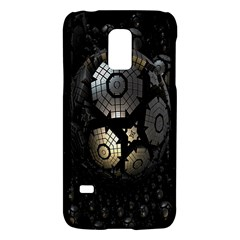 Fractal Sphere Steel 3d Structures Galaxy S5 Mini by Nexatart