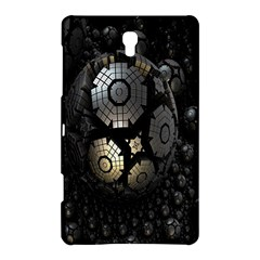Fractal Sphere Steel 3d Structures Samsung Galaxy Tab S (8 4 ) Hardshell Case  by Nexatart