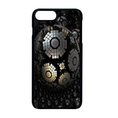 Fractal Sphere Steel 3d Structures Apple iPhone 7 Plus Seamless Case (Black) by Nexatart