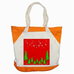 Merry Christmas Accent Tote Bag