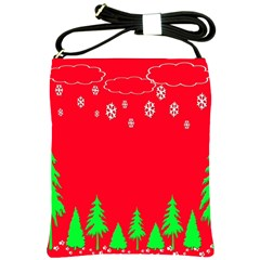 Merry Christmas Shoulder Sling Bags