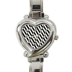 Hide And Seek Malika Heart Italian Charm Watch