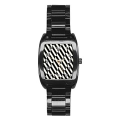 Hide And Seek Malika Stainless Steel Barrel Watch
