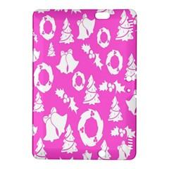 Pink Christmas Background Kindle Fire Hdx 8 9  Hardshell Case by Nexatart