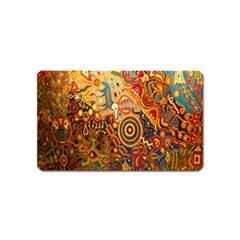 Ethnic Pattern Magnet (name Card)