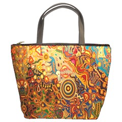 Ethnic Pattern Bucket Bags