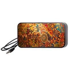 Ethnic Pattern Portable Speaker (black)
