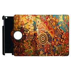 Ethnic Pattern Apple Ipad 2 Flip 360 Case by Nexatart