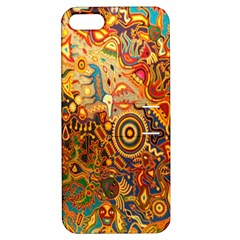 Ethnic Pattern Apple Iphone 5 Hardshell Case With Stand