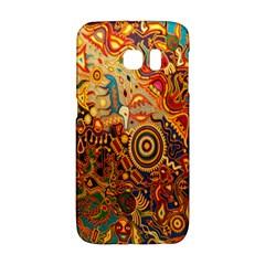 Ethnic Pattern Galaxy S6 Edge by Nexatart
