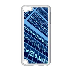 Mobile Phone Smartphone App Apple Ipod Touch 5 Case (white) by Nexatart