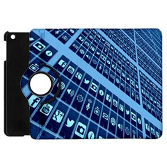 Mobile Phone Smartphone App Apple iPad Mini Flip 360 Case by Nexatart