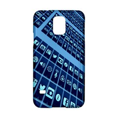 Mobile Phone Smartphone App Samsung Galaxy S5 Hardshell Case  by Nexatart