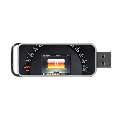 Interior Car Vehicle Auto Portable Usb Flash (two Sides)