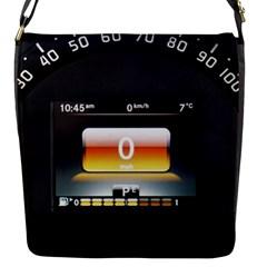 Interior Car Vehicle Auto Flap Messenger Bag (s)