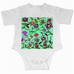 Flowers Floral Doodle Plants Infant Creepers