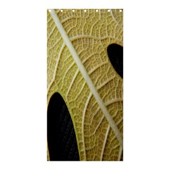 Yellow Leaf Fig Tree Texture Shower Curtain 36  X 72  (stall)