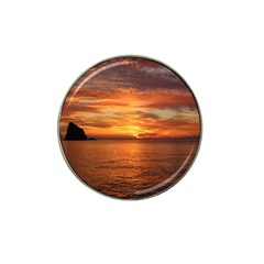 Sunset Sea Afterglow Boot Hat Clip Ball Marker (10 Pack) by Nexatart