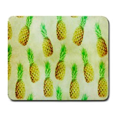 Pineapple Wallpaper Vintage Large Mousepads