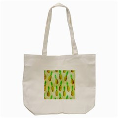 Pineapple Wallpaper Vintage Tote Bag (cream) by Nexatart