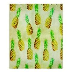 Pineapple Wallpaper Vintage Shower Curtain 60  X 72  (medium)