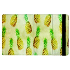 Pineapple Wallpaper Vintage Apple Ipad 2 Flip Case by Nexatart